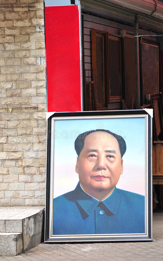 Download Chairman mao editorial stock image. Image of chinese - 20898184