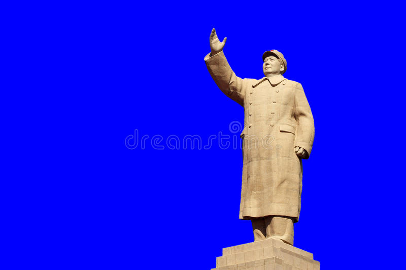 Download Chairman Mao's Statue editorial stock image. Image of statue - 17300874