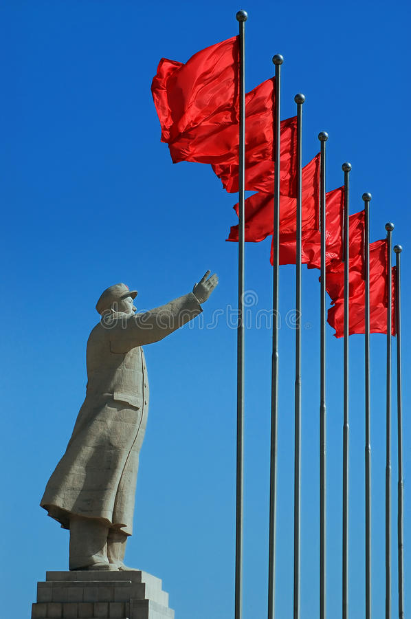 Free Chairman Mao S Statue Royalty Free Stock Photography - 25297667