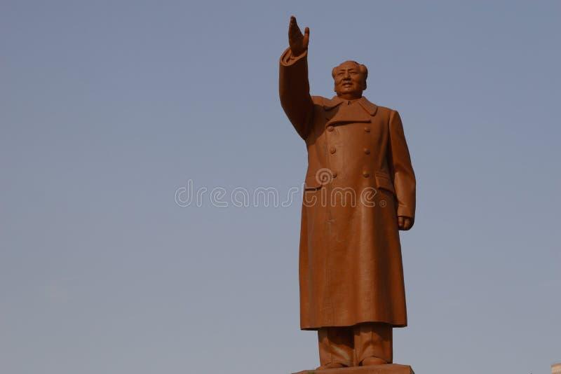 Chairman Mao Ze statue royalty free stock photo