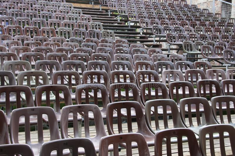 Chairs on the auditorium
