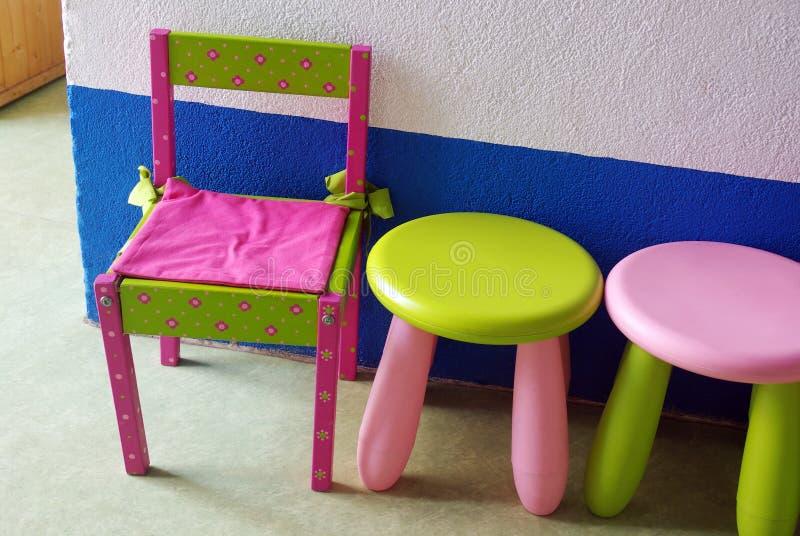 chairs barn s royaltyfria foton