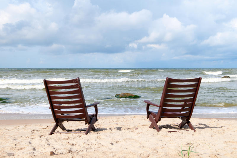 Download Chairs At The Beach Stock Photo - Image: 26561450