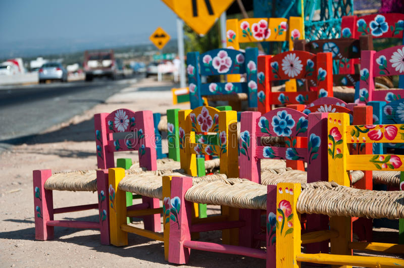 Chairs for children royalty free stock images