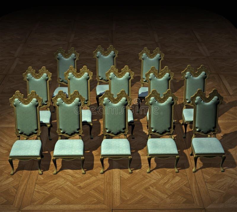 chairs formellt vektor illustrationer