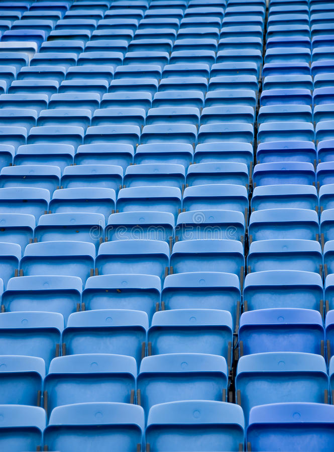 Free Chairs In A Row Stock Photo - 10915720