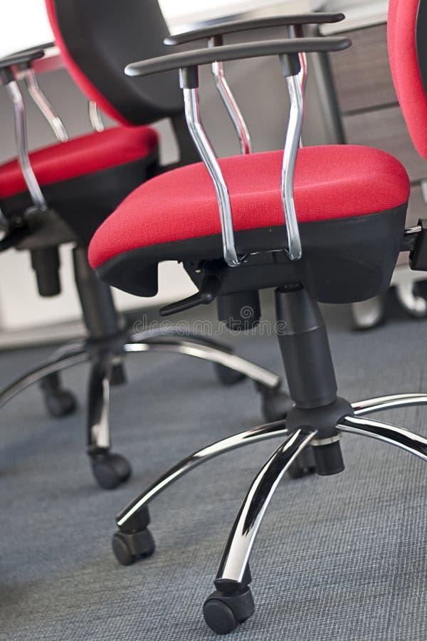 chairs kontoret royaltyfri foto