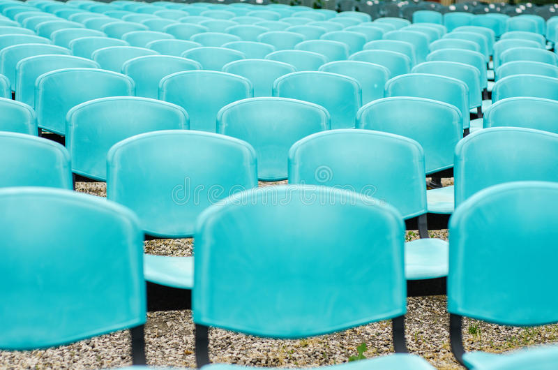 Download Chairs stock photo. Image of show, blue, entertainment - 31534790