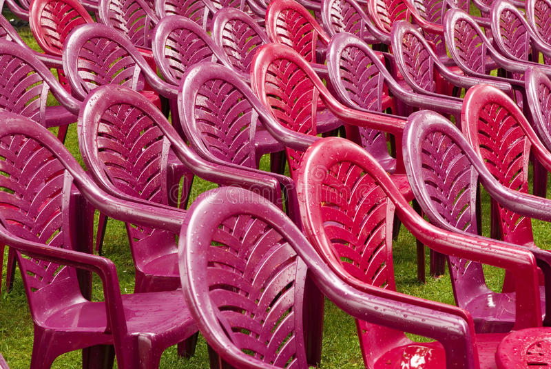 Chairs seatings royalty free stock photo
