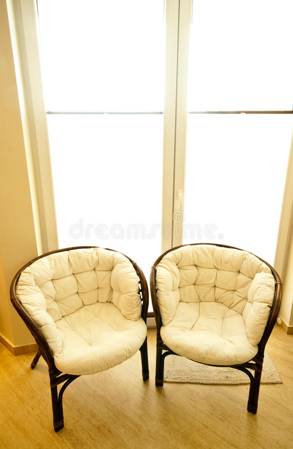 Download Chairs by window stock image. Image of furniture, inside - 29223407