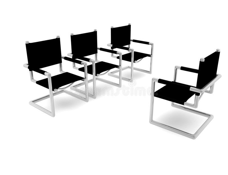 Chairs For Working Meeting Stock Images