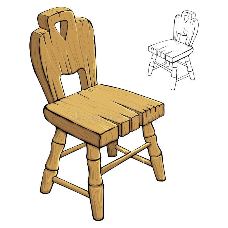 Chaise illustration stock