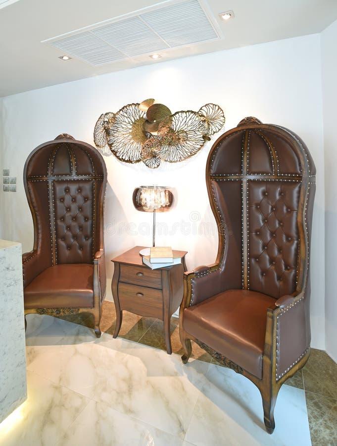 Chaise classique de style image stock