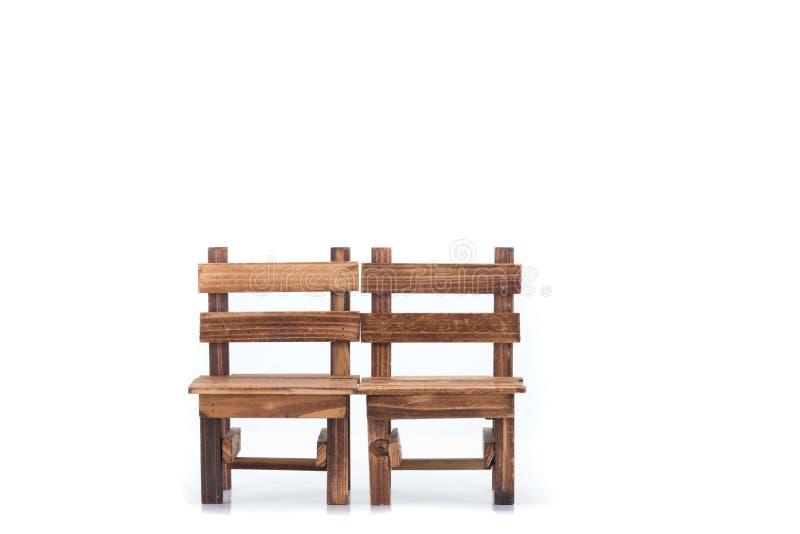 Chaise d'isolement sur le fond blanc image stock