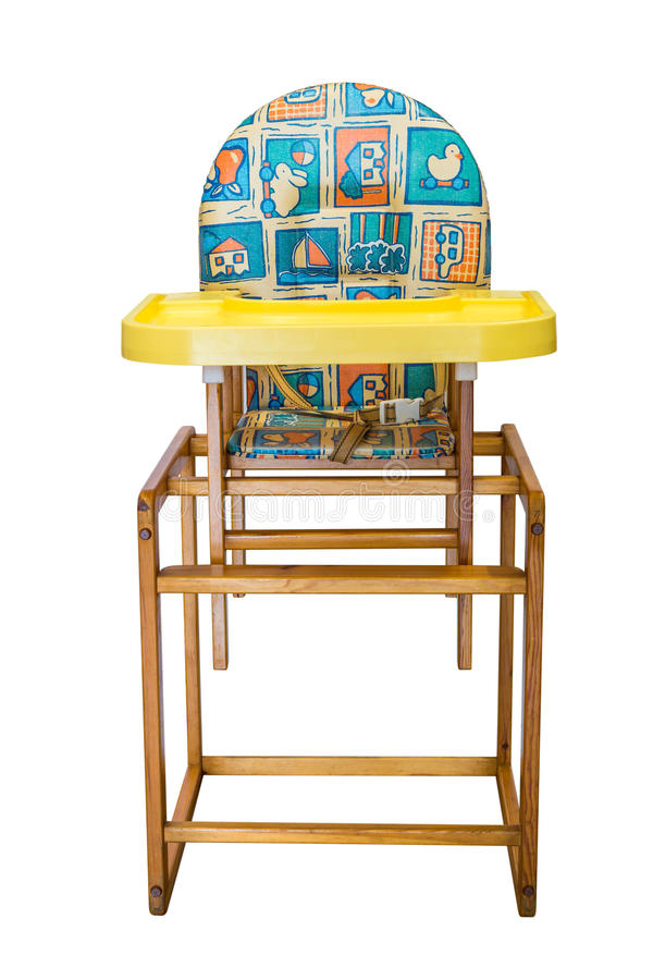 Chaise de bébé image stock