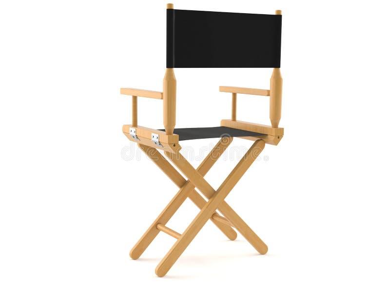 Chaise de cinéaste illustration libre de droits