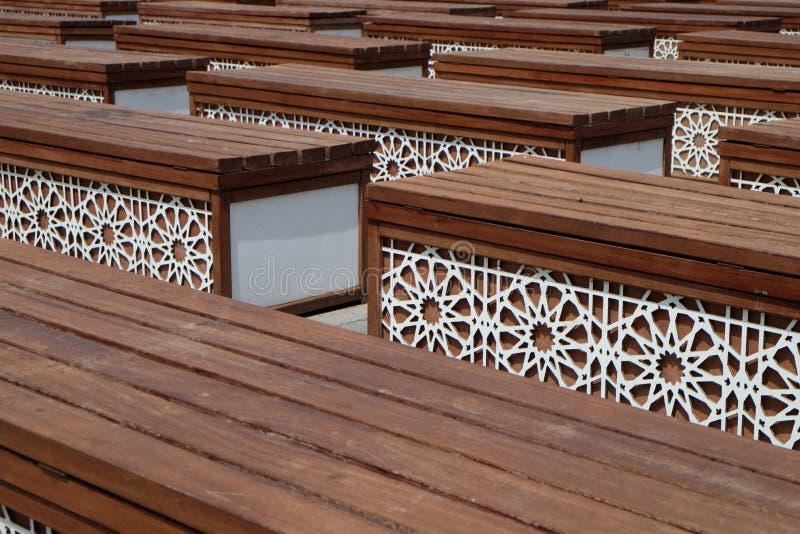 Chaise de forme rectangulaire photo libre de droits