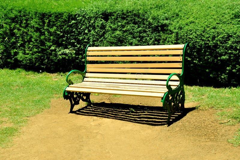 Chaise de parc photographie stock