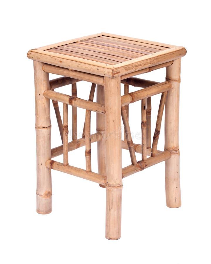 Chaise en bambou de fantaisie images libres de droits