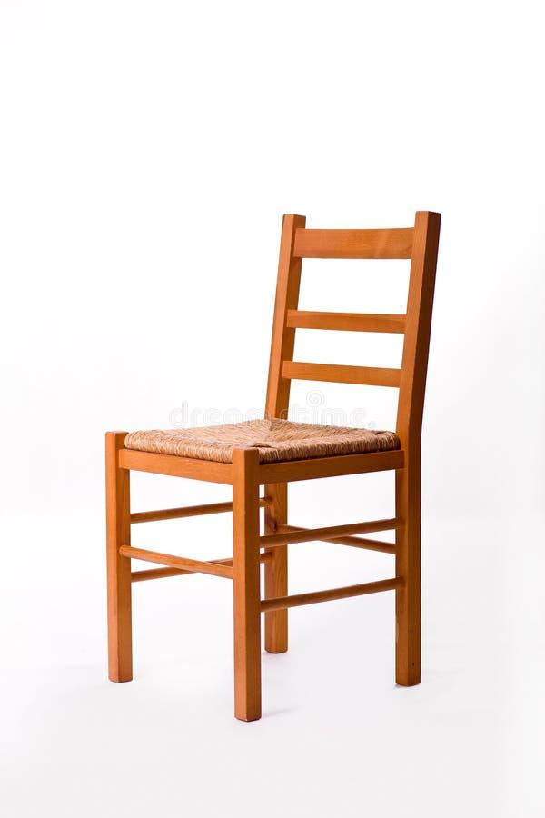 Chaise en bois images libres de droits