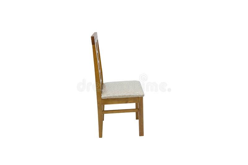 Chaise en bois Objet d'isolement image stock