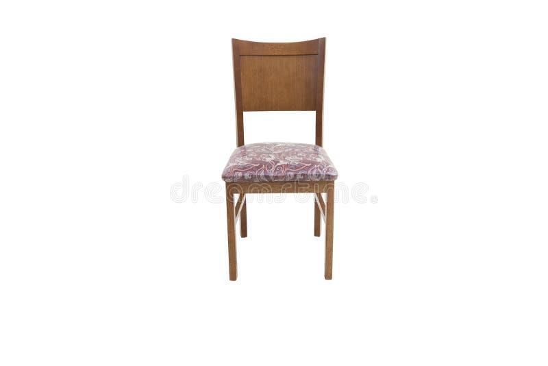 Chaise en bois Objet d'isolement photo stock