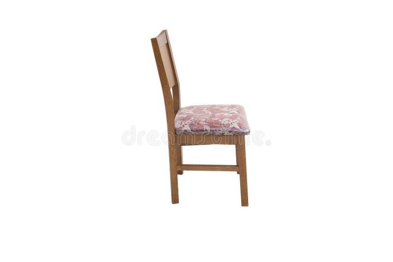Chaise en bois Objet d'isolement photos libres de droits