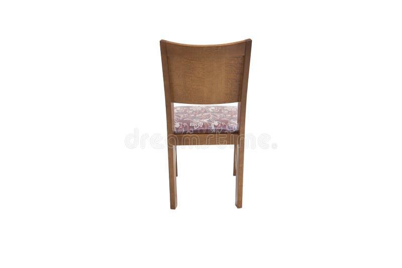 Chaise en bois Objet d'isolement image libre de droits