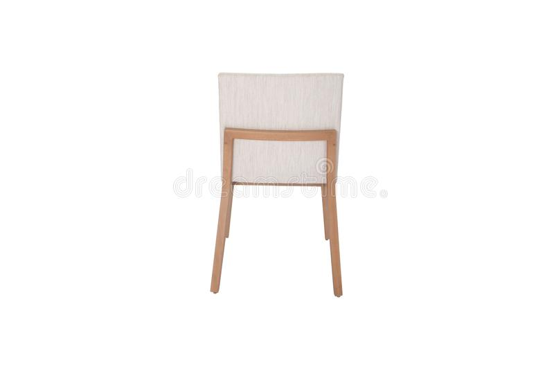 Chaise en bois Objet d'isolement du fond photo libre de droits