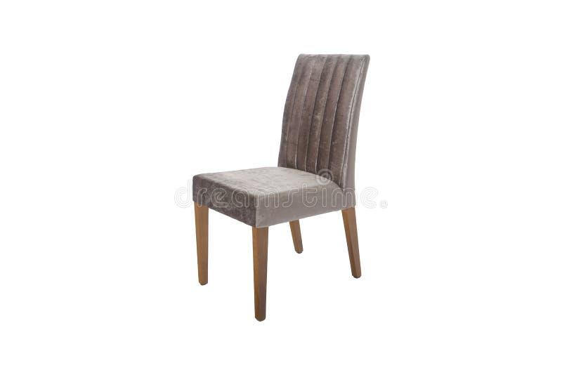 Chaise en bois Objet d'isolement du fond photos libres de droits