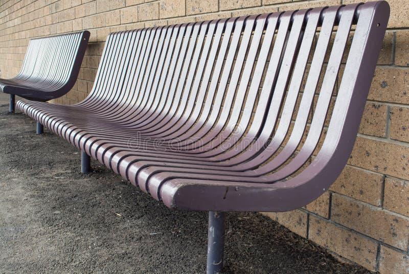 Chaise en métal image libre de droits