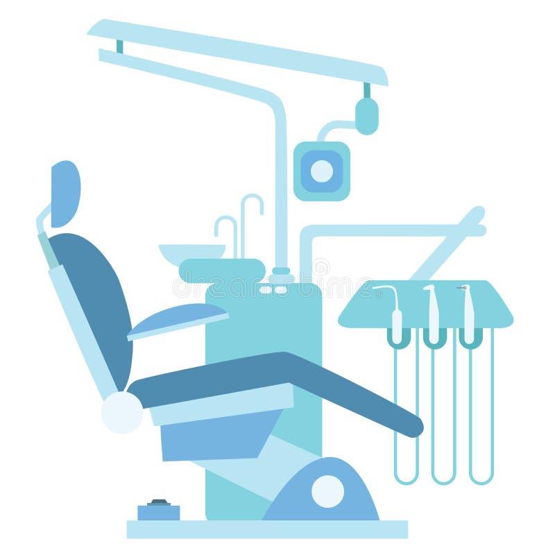 Chaise m dicale de bureau de dentiste illustration stock - Chaise de bureau medicale ...