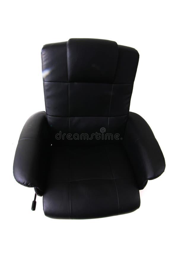 chaise noire de relaxation photos libres de droits
