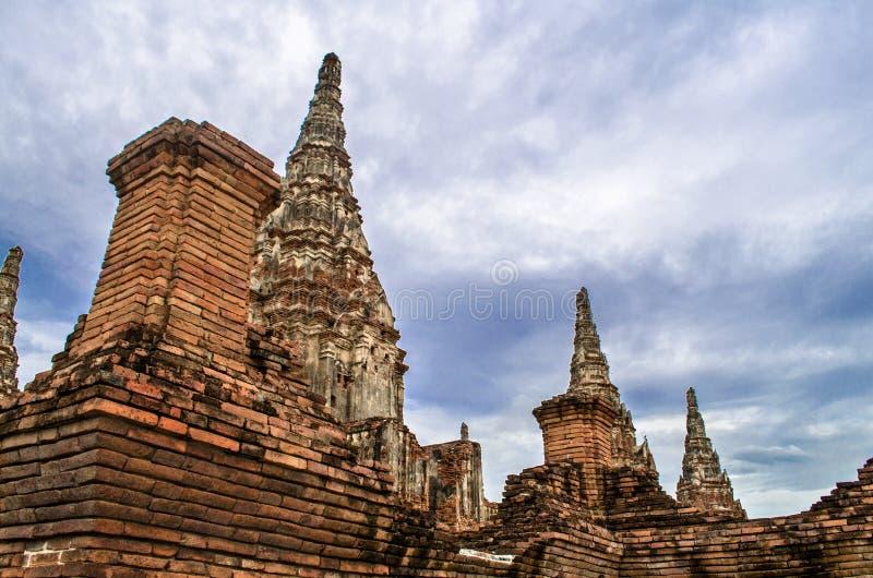 Chaiwatthanaram Temple in Ayutthaya,Thailand royalty free stock images