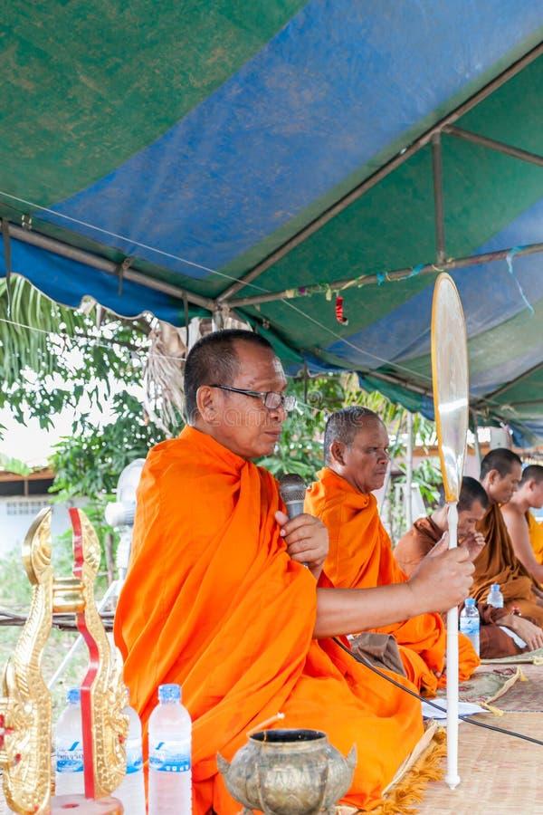CHAIYAPHUM, THAILAND Am 15. Mai: Nicht Identifiziertes Thailändisches Redaktionelles Stockbild