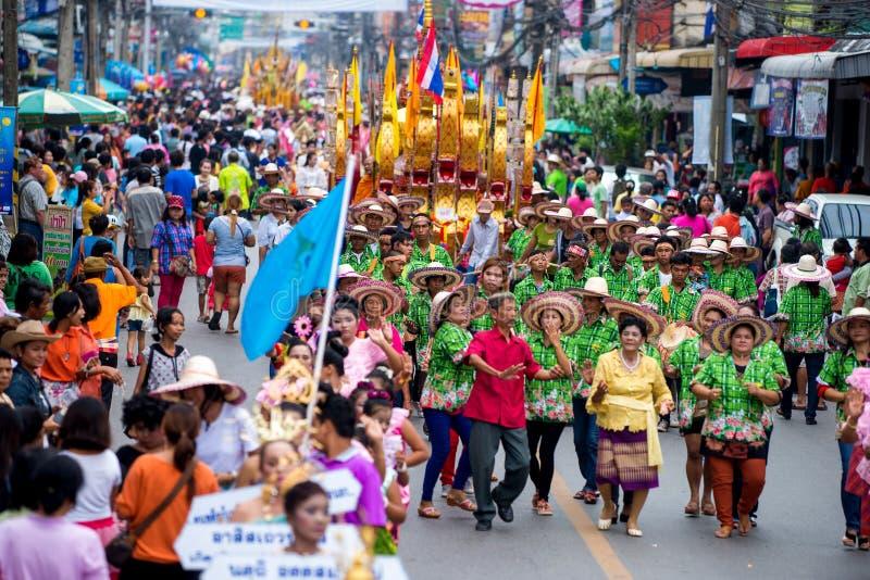 Chak Phra Festival fotos de stock