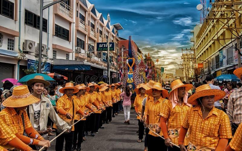 Chak Phra Festival foto de stock royalty free