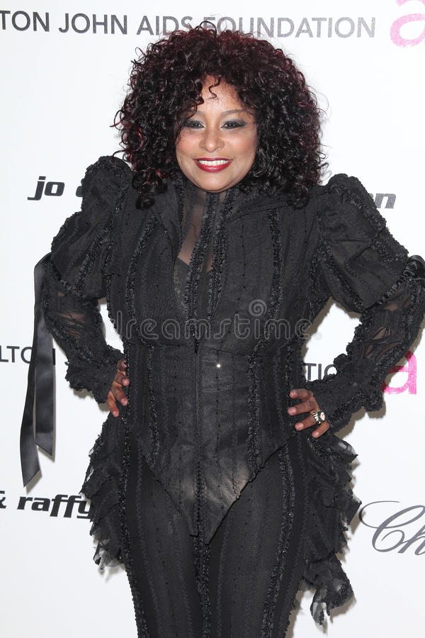 Chaka Khan. At the 19th Annual Elton John Aids Foundation Academy Awards Viewing Party, Pacific Design Center, West Hollywood, CA. 02-27-11 stock images