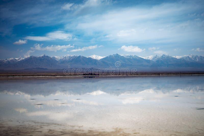 Chaka Salt Lake fotografering för bildbyråer