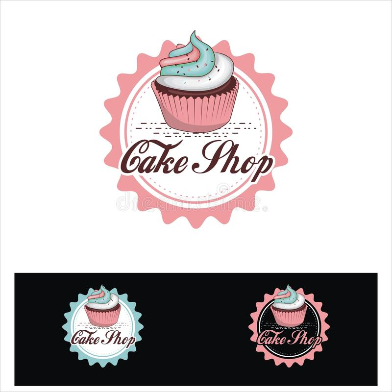 Free Chake Shop Emblem Logo Style Stock Photo - 115047410