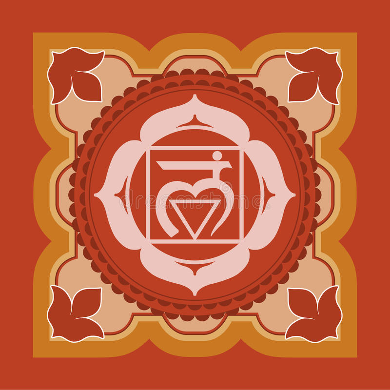 Chakra ilustração royalty free