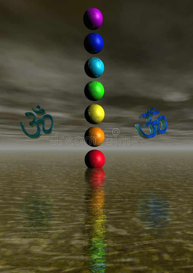 Chakra illustration libre de droits