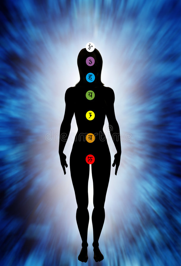 Download Chakra stock illustration. Illustration of spiritual, energy - 5956837