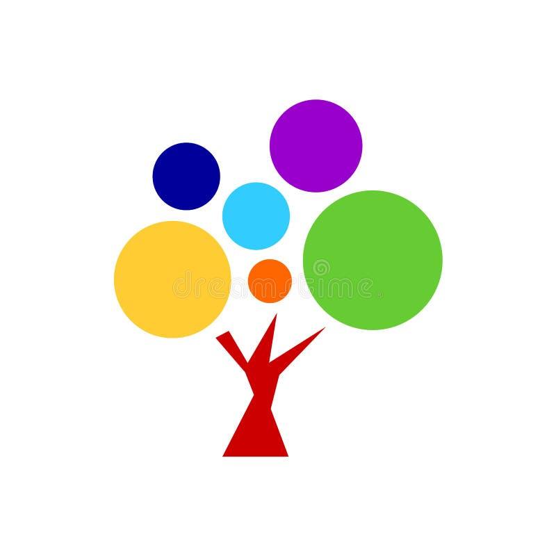 7 chakra color icon symbol logo sign, flower floral, vector stock illustration