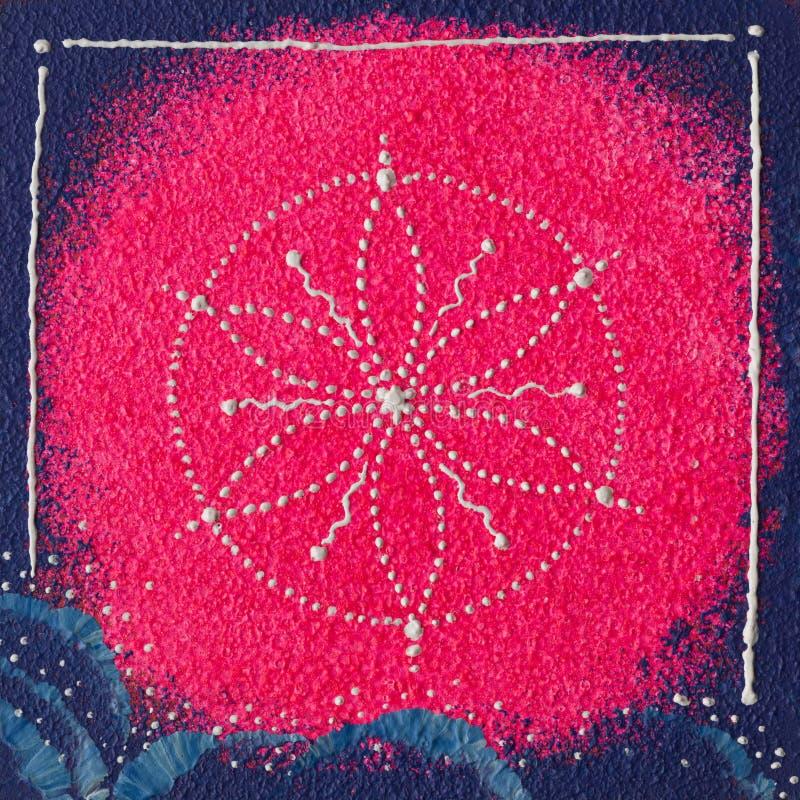 Chakra della corona di Sahasrara fotografie stock libere da diritti