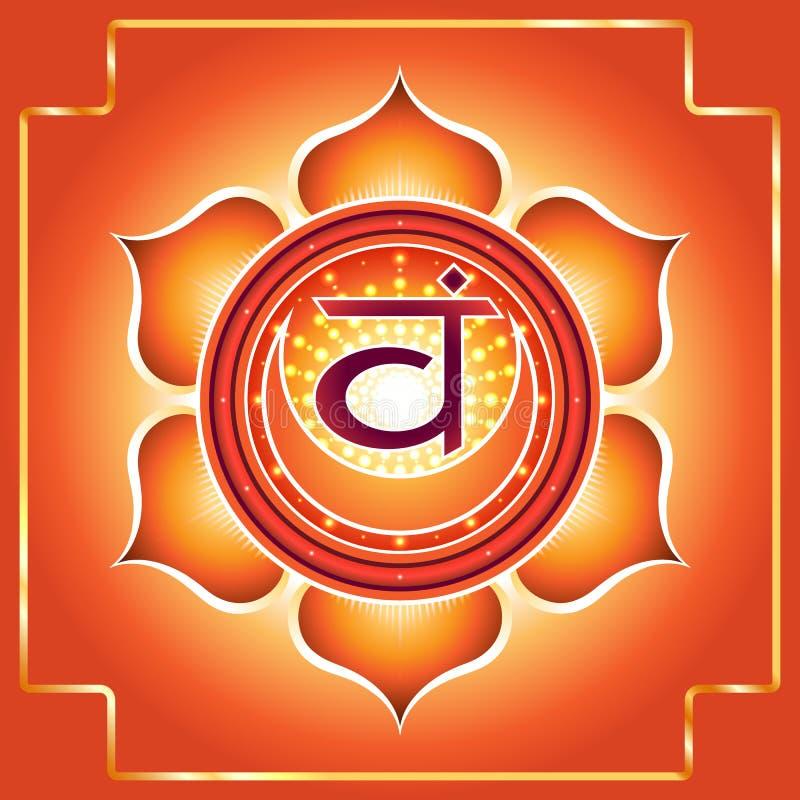Chakra Svadhisthana fotografia de stock royalty free
