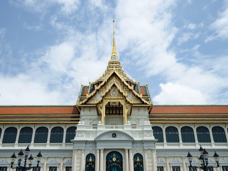 Chakri Maha Prasat dans le palais grand de Bangkok photo libre de droits