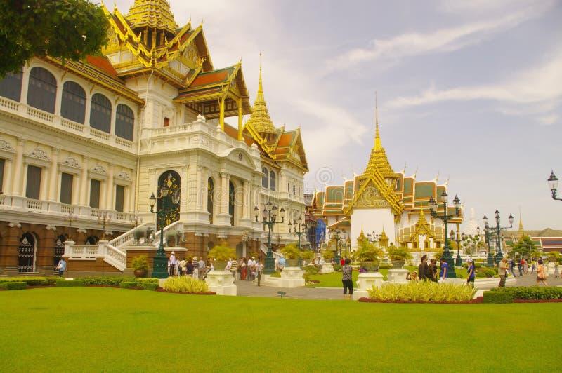 Chakri Maha Prasat Hall royalty free stock images