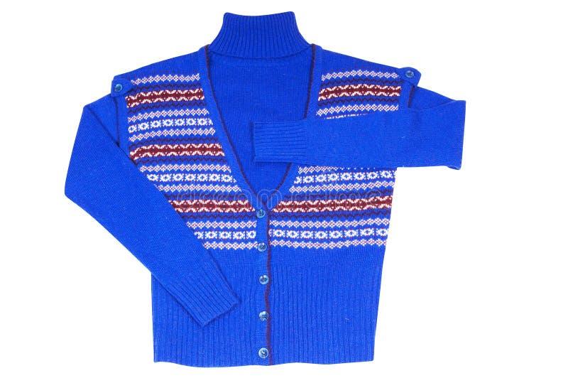 Chaleco y suéter con estilo en un blanco. fotos de archivo libres de regalías