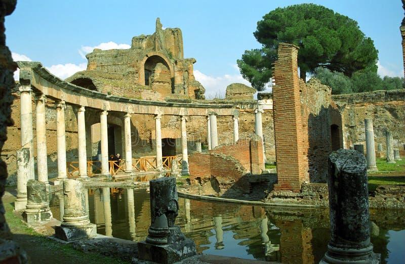 Chalet Adriana, Lazio, Italia imagen de archivo libre de regalías